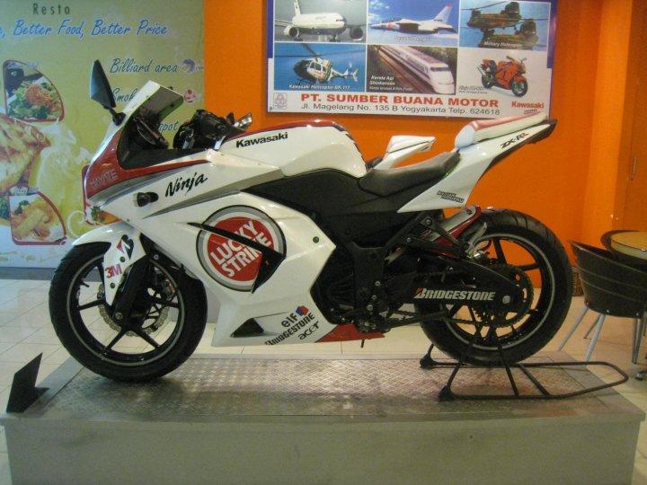 Modifikasi Kawasaki Ninja 250