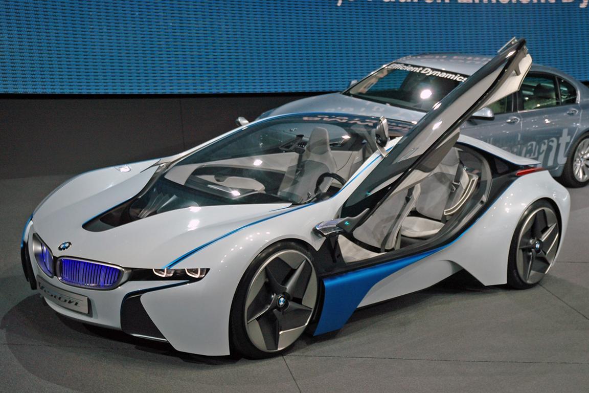 BMW i8 Versi Hardcore, Mobil Listrik