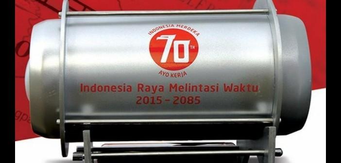 kapsul Waktu yang Membawa Impian Rakyat Indonesia