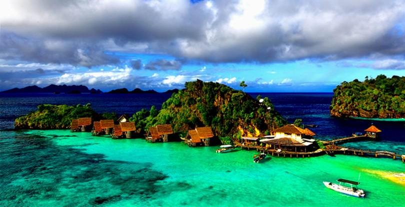 Objek Wisata Papua - Wisata Bahari Raja Ampat