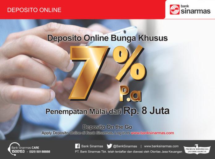deposito online bunga 7%