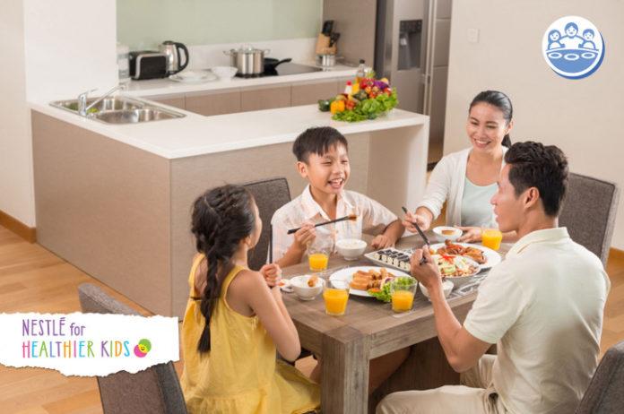 kebiasaan makan bersama keluarga