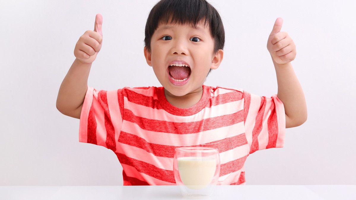 susu dengan probiotik