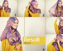 Mempercantik Diri Dengan Menggunakan Model Jilbab Masa Kini