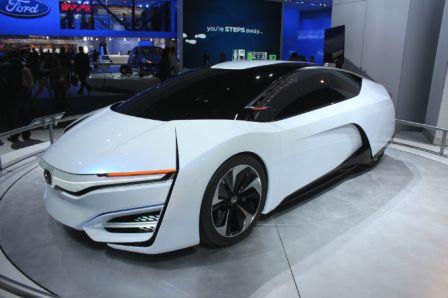 Honda FCV Mobil Hidrogen