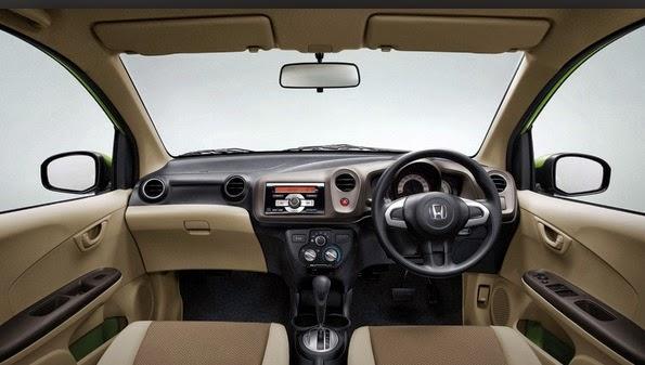 Tampak Dashboard, Samping dan Belakang Honda Indonesia Mobilio