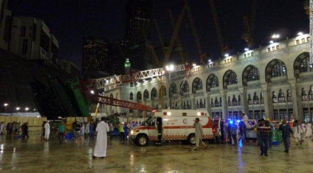 11 Korban Crane Masjidil Haram Telah Dimakamkan