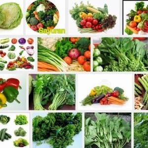 Banyak mengkonsumsi sayuran