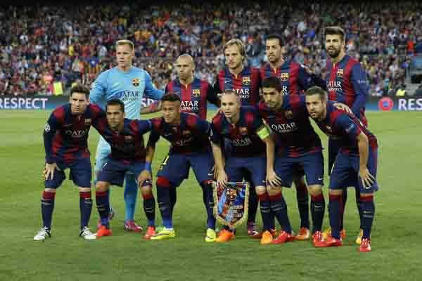 FC Barcelona tak terkalahkan sampai minggu ketiga liga spanyol