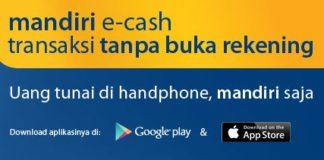 penipuan Mandiri e-cash